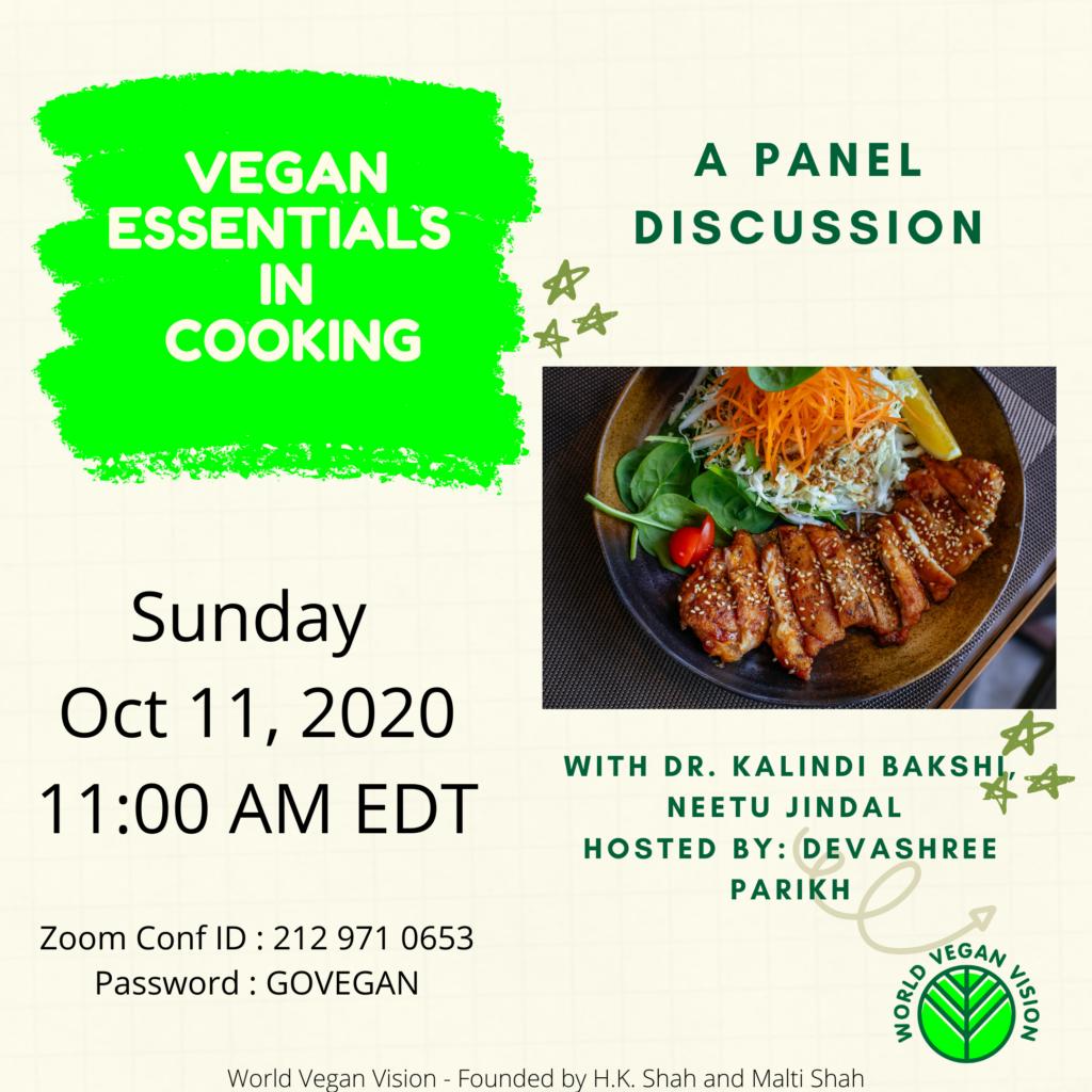 Vegan Essentials Poster